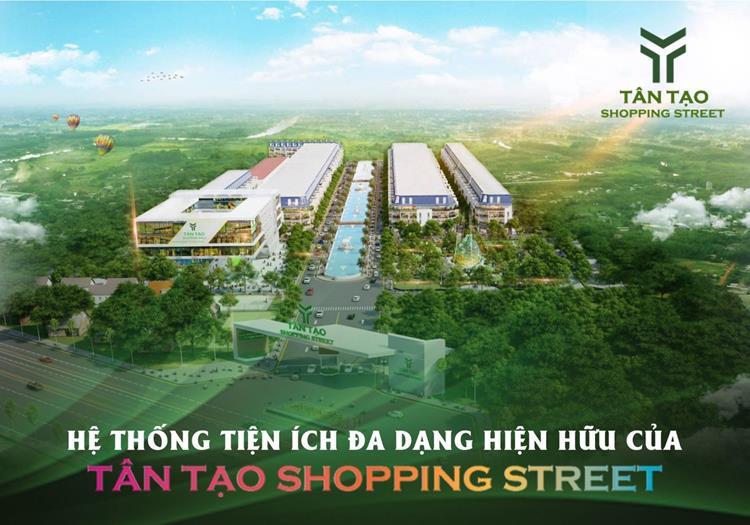 Tân Tạo Shopping Street