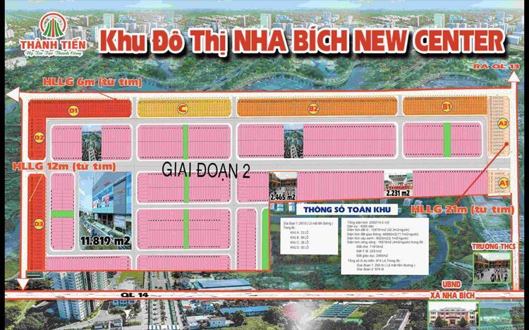 Khu đô thị Nha Bích New Center