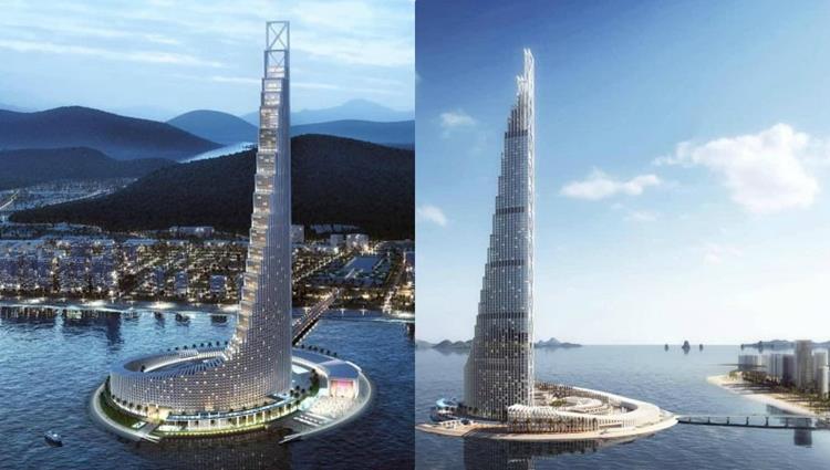 Tháp 99 tầng Domino Hạ Long