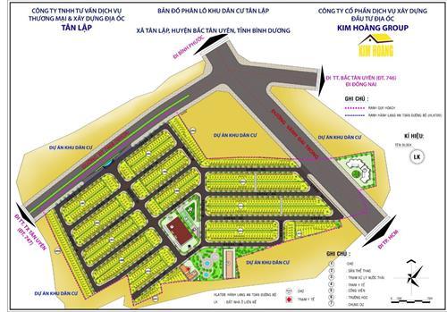 Đất Nền Đối Diện VSIP III - Future City Tân Uyên Dự Án Vàng