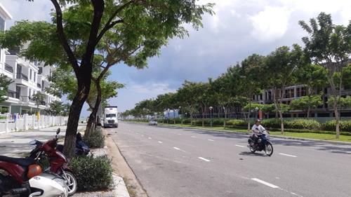 Dự án Melody City nằm trên trục 60 m Nguyễn Sinh Sắc kết nối Nguyễn Tất Thành và Hoàng Thị Loan.