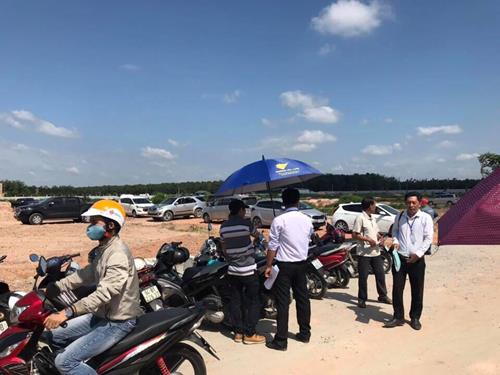 Bán đất nền Dự án đức phát 3, Ngay QL 13 Bàu Bàng, Giá chỉ 636 triệu/nền