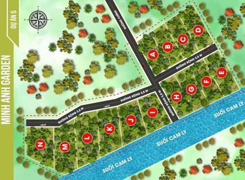 Bán Đất vườn Mê Linh - Minh Anh 5 Đà Lạt, giá 379 triệu/500m2