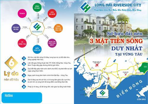 Dự án Long Hải Riverside City - Đất Nền Bà Rịa - CĐT: 0917737071
