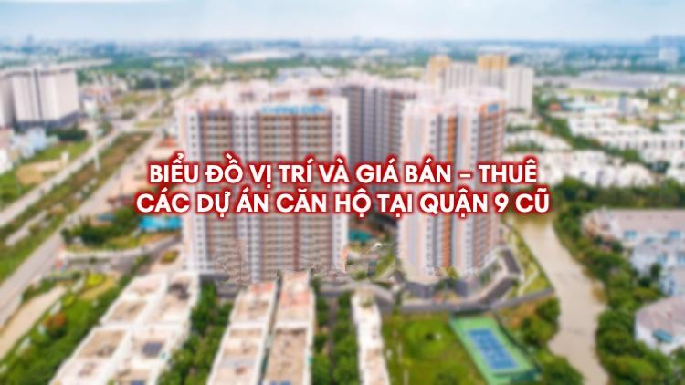 Giá bán & cho thuê các dự án căn hộ Quận 9 mới nhất (10/2021)