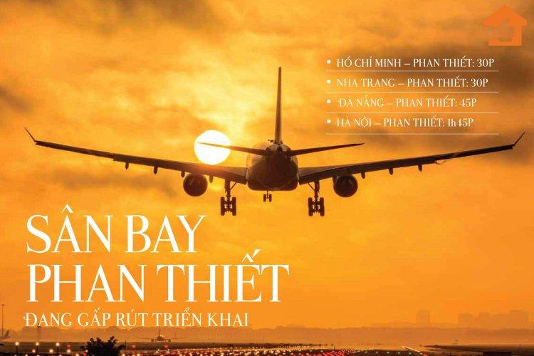 Thông tin mới nhất về sân bay Phan Thiết