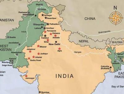 Bản đồ du lịch Ấn Độ