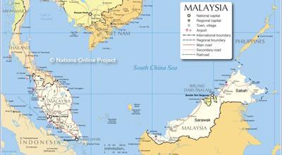 Bản đồ Malaysia