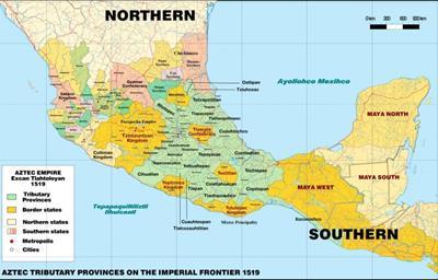 Bản đồ Mexico