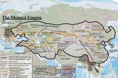 Bản đồ Mông Cổ