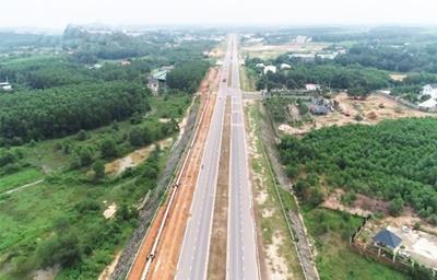 Tiến độ đường Bắc Sơn – Long Thành nối đến sân bay Long Thành