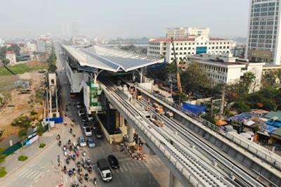 Dự kiến chạy thử tuyến đường sắt Nhổn – Ga Hà Nội trong tháng 9/2020