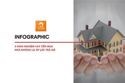 Infographic: 5 kinh nghiệm vay tiền mua nhà đất không lo áp lực trả nợ