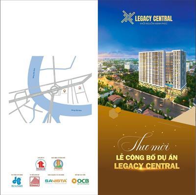 Kịch bản sự kiện công bố dự án căn hộ Legacy Central ngày 15/11/2020