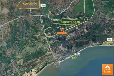 Thông tin mới về sân bay Lộc An (Hồ Tràm)