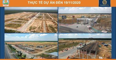 Toàn cảnh tiến độ xây dựng dự án Century City từ tháng 3 đến tháng 11/2020