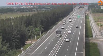 UBND TP Cần Thơ bàn phương án xây dựng cao tốc Cần Thơ – Cà Mau