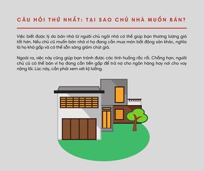 Những câu hỏi cần biết khi bạn mua nhà LẦN ĐẦU