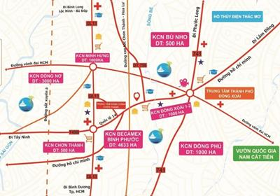 9 dự án hạ tầng giao thông Bình Phước vừa đề xuất với Bộ Giao thông vận tải