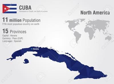 Bản đồ Cuba