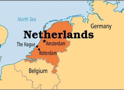 Bản đồ du lịch Hà Lan