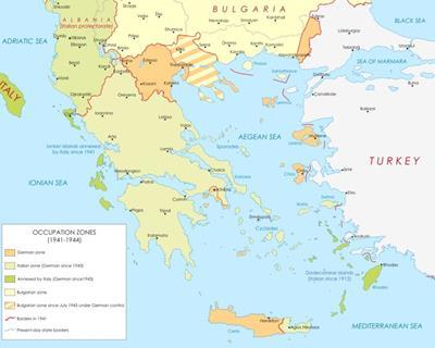 Bản đồ du lịch Hy Lạp