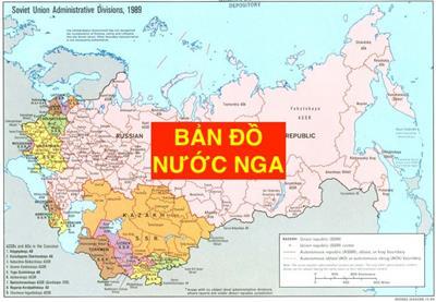 Bản đồ nước Nga