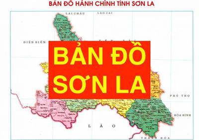 Bản đồ Sơn La khổ lớn phóng to chi tiết