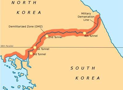 Bản đồ Triều Tiên