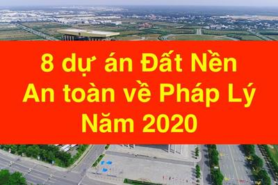 Bình Dương công bố 8 dự án đất nền an toàn về pháp lý năm 2020