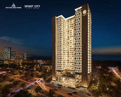 Flycam Tiến độ xây dựng dự án căn hộ The Sang Residence Đà Nẵng 2021