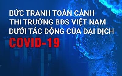 [Infographic] Toàn cảnh thị trường Bất động sản Việt Nam dưới tác động của Covid-19