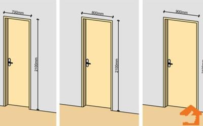 Kích thước cửa phòng ngủ theo tiêu chuẩn phong thủy hiện nay
