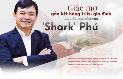 """Shark Phú – """"Mr.Wonderful"""" biến lời nói thành hành động"""