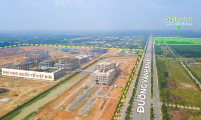 Trường đại học Việt Đức lớn nhất Việt Nam đang thi công đến đâu?