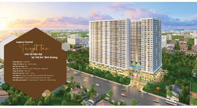 So sánh giá bán dự án căn hộ Legacy Central với các khu căn hộ lân cận
