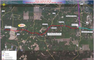 Nỗ lực giải phóng mặt bằng dự án đường Bắc Tân Uyên - Phú Giáo - Bàu Bàng