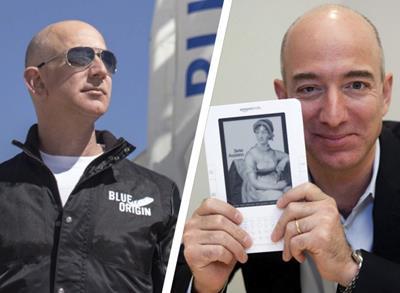 Jeff Bezos – con đường trở thành tỷ phú giàu nhất thế giới