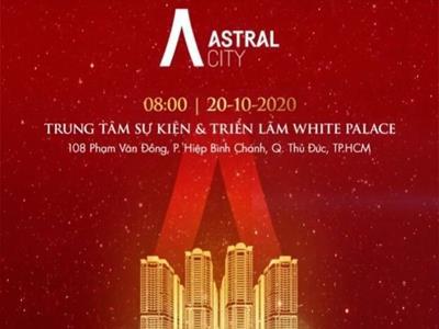Ngày 20/10/2020 Lễ kích Off dự án căn hộ cao cấp Astral City