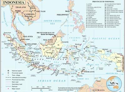 Bản đồ Indonesia