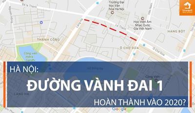 Toàn cảnh dự án đường Vành đai 1 tại Hà Nội
