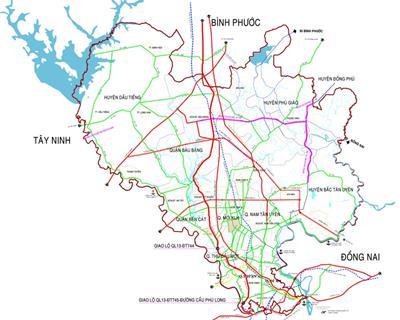 Thông tin quy hoạch giao thông tỉnh Bình Dương đến năm 2030