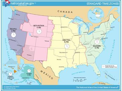 Bản đồ nước Mỹ (Hoa Kỳ) năm 2021