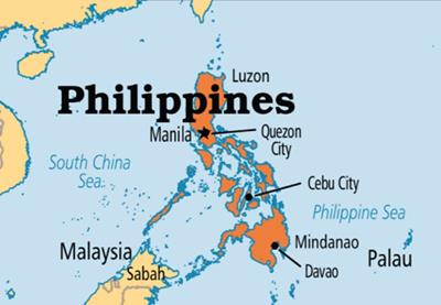 Bản đồ du lịch Philippines