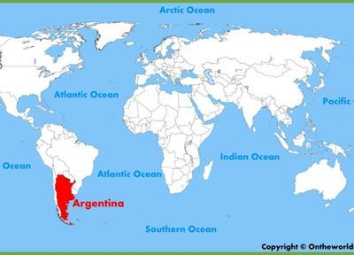 Bản đồ du lịch Argentina