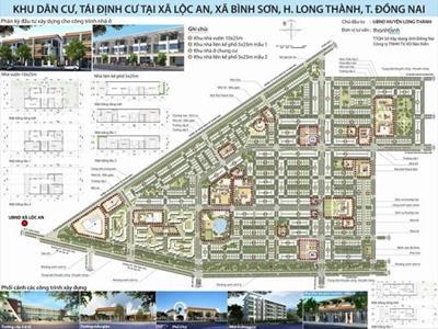 Giá đất & thông tin mới Khu tái định cư Lộc An - Bình Sơn