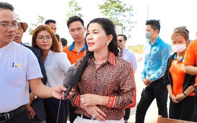 Kim Oanh Group chính thức nhận bàn giao đất tại dự án Khu dân cư Hòa Lân