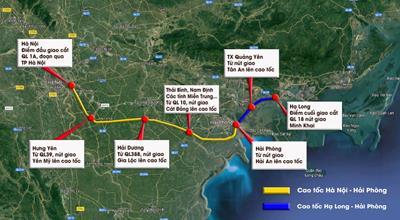 Đường cao tốc Ninh Bình – Hải Phòng – Quảng Ninh