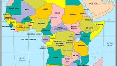Bản đồ du lịch Châu Phi năm 2020