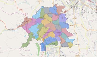 Thông tin quy hoạch chung xây dựng huyện Chương Mỹ đến năm 2030